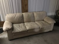 leather sofa with love seat $300,stockton ca
