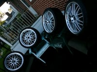 20 inch rims and tires a1 condition Baltimore, 21206
