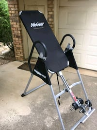 Stretch your back with an Inversion Table