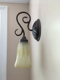 Two bronze Wall Sconses. I have an extra set. Brand New, still in original box.  Bedminster, 07921