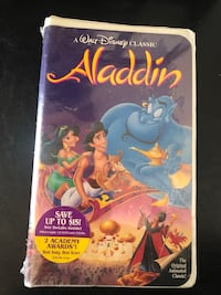 Aladdin VHS (never opened) Colmar Manor, 20722