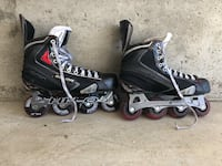 black-and-white inline skates Great Falls, 59405