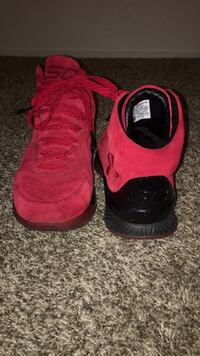 Used Curry 1 lux Red Suedes Visalia, 93277
