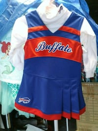 2t Bills cheerleading outfit
