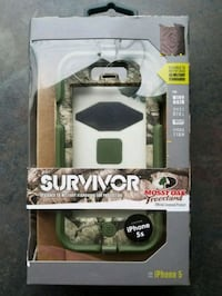 Camo iPhone 5s phone case brand new never opened