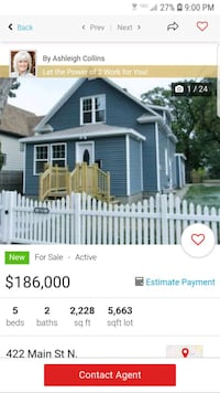 HOUSE For Sale 4+BR 2BA Minot