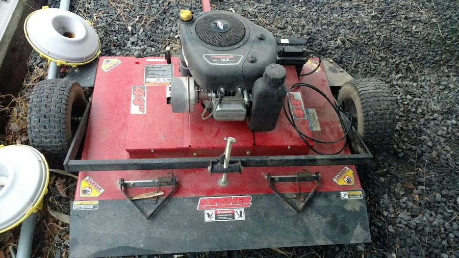 Offset Finish Mower : Used pull behind finish mower with offset in bloomsburg