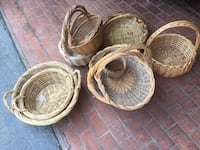 Large beautiful baskets for sale. Perfect condition  Los Angeles, 90272
