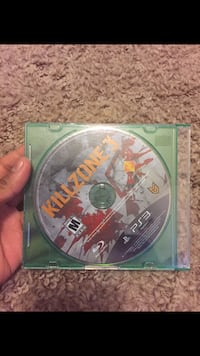 Kill zone 3 Sony PS3 game disc with case Winchester, 22603