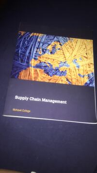 Supply chain mgmt textbook  Burlington, L7R 1J8