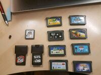 Various DS and Gameboy games  Toronto, M8W 3P6
