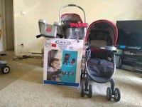 baby's black and red travel system Cumberland, 02864