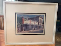 Framed Painting of Sloppy Joe's Bar Calgary, T2Z 4C4