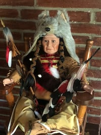 Native American Doll - made from porcelain. Kansas City, 64119