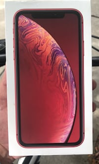 iPhone XR product Red,iPhone X and iPad 6th gen boxes only...