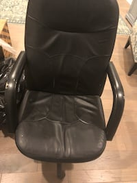 Leather desk chair  Mc Lean, 22102