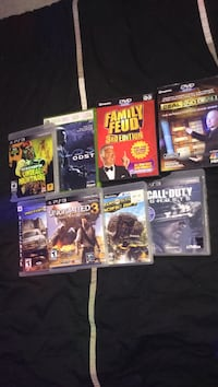 Ps3, Xbox360, Dvd games Barrie, L4M 7H4