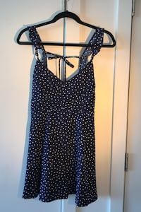 Blue and white dress Small Never worn
