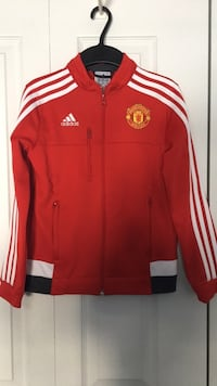 Authentic Adidas ROONEY 10 Manchester United jacket youth sz.S  9/10 Laval, H7K