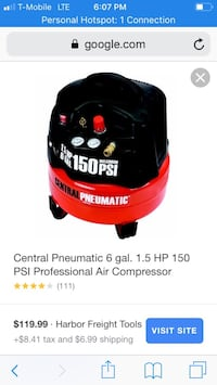 Air compressor used 2 times only  Lakewood Township, 08701