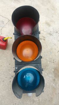 Vintage aluminum railroad traffic light Ocala, 34480