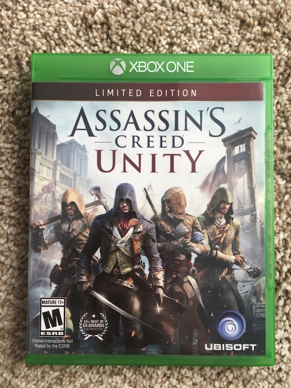 Used Assassin S Creed Unity Xbox One For Sale In Fairfax Letgo