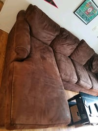 Brown Rowe Furniture Sectional & Bar table and stools Boston, 02135