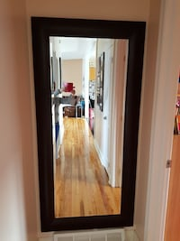 "Brown mirror 69""by 33"" Laval, H7X"