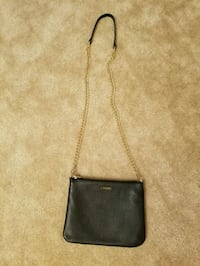 Black and gold purse Alexandria