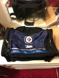 Black and blue jets  bag Winnipeg, R2L 1P8