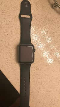 space black aluminum case Apple Watch with black sport band Milwaukee, 53222