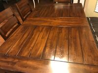 wooden table with chairs Yelm, 98597