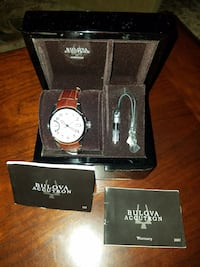 Automatic bulova accutron watch new with tags