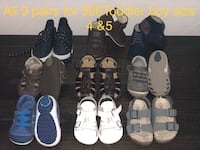 toddler's assorted pairs of shoes Ceres, 95351