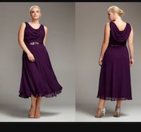 women's purple sleeveless dress Annandale, 22003