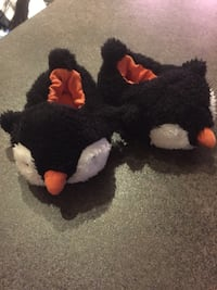 Penguin slippers 3-6 month old