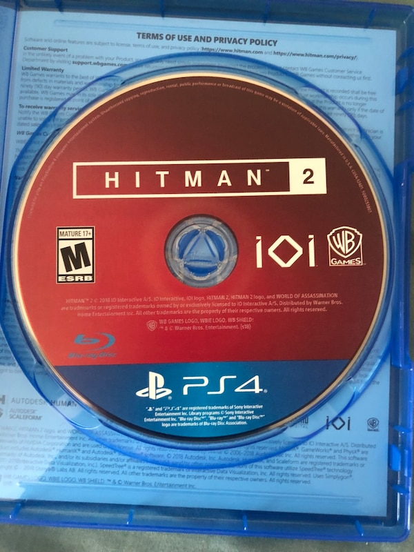60d69afc8 Used New release HitMan 2 for sale in Arlington - letgo
