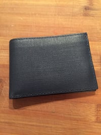 brand new bifold leather wallet
