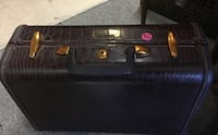 Small leather Samsonite luggage bag 43 mi