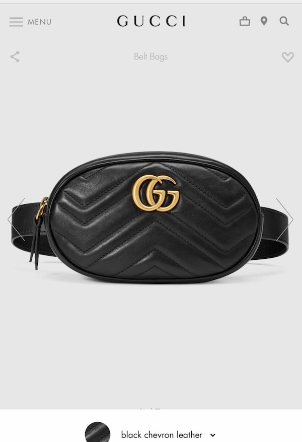 b9a0dcf666b3 Used Gucci belt bag for sale in Vaughan - letgo