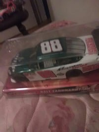 green and white Dale Earnhardt 88 coupe die-cast pack Bay City, 48706