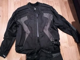 Joe rocket 2 piece motorcycle suit