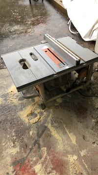 Rigid table saw Langley, V3A 3C9