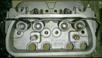 Pair vw 1600cc dual port heads made in Germany Woodstock, 22664