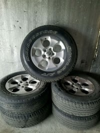 "5 18"" Jeep Rims and Tires Houma"