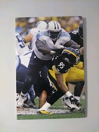 Signed Poster of Chance Warmack