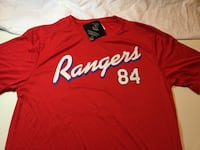 Texas Rangers Batting Practice Shirt Little Rock