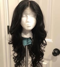 Kim K curled lace closure Wig Washington, 20001