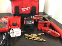 Milwaukee  drill and accessories  Austin, 78757