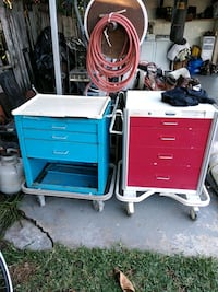 blue and red tool chest Santa Ana, 92703